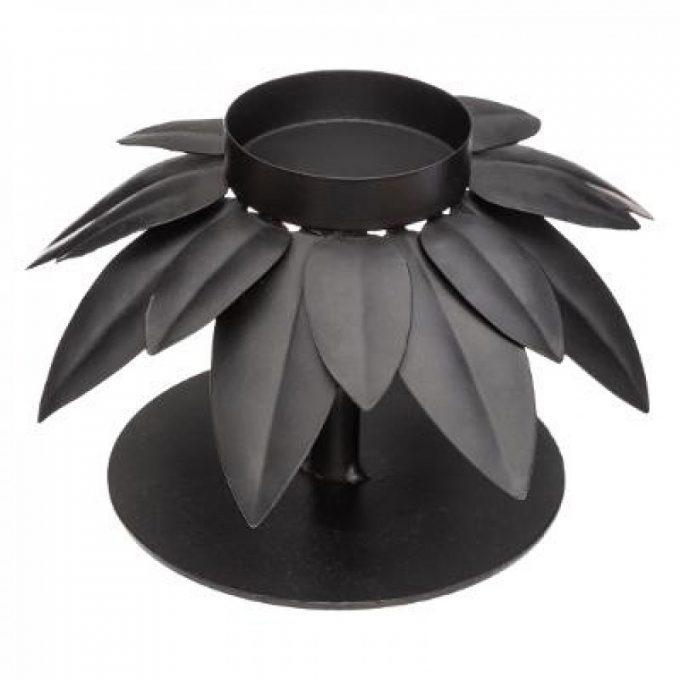Kandelaar Palm - Zwart