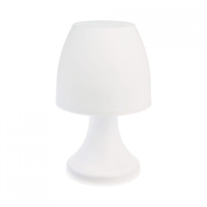 LED Nachtlampje Snow Wit - Werkt op batterijen (incl. lamp) - Voor binnen & Buiten