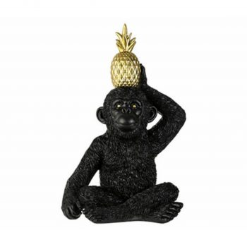 Ornament Monkey Pine Apple - H26