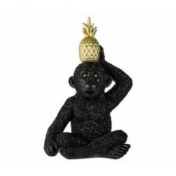 Ornament Monkey Pine Apple - H26