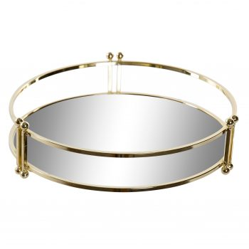 Mirror Tray Luxurious Rond - Small - Ø 21,5