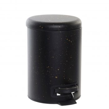 Pedaalemmer 3L Black Spots - Zwart/Goud