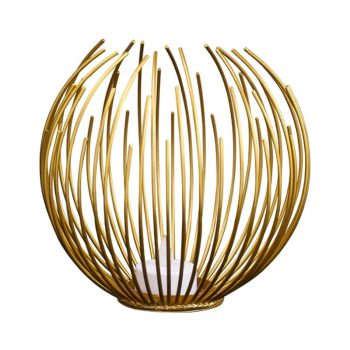Wire Partylight Goud - Ø 17.5 cm