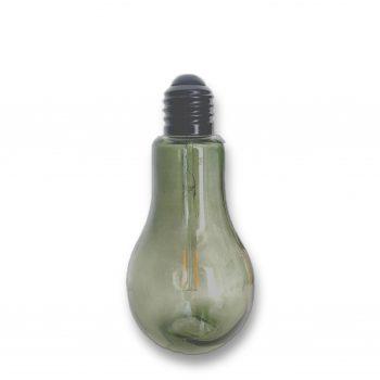 LED-lamp Bulb - Groen - Werkt op batterijen (incl. lamp & batterijen)