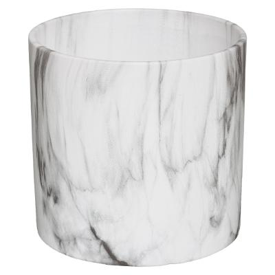 Set van 2 Bloempot Marble