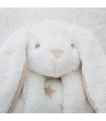 Kussen Rabbit & Plaid