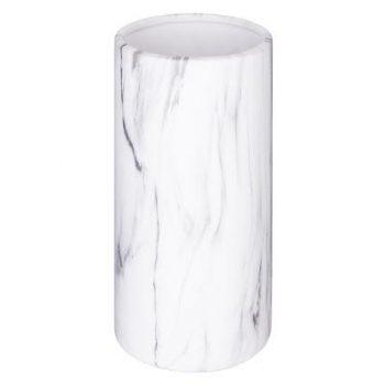 Deco Vaas Marble - marmerlook - H20 cm