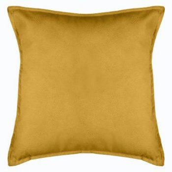 Velvet kussen Ocre XL - Oker geel - 55 x 55 cm (incl. vulling)