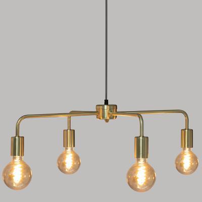 Design Hanglamp / Kroonluchter Elegance - Goud - 4 lichts
