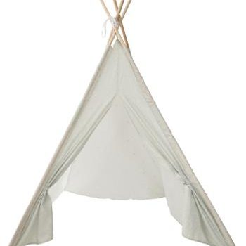 Speel Tent Tipi Glow in the Dark Grijs