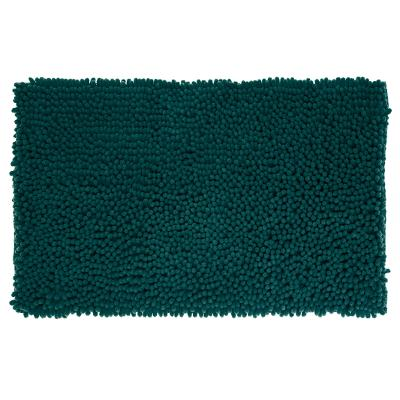 Badmat Chenille Hoogpolig Tijm Groen - 80 x 50 cm