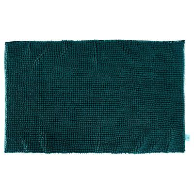 Badmat Ocre Chenille Laagpolig Tijm Groen - 80 x 50 cm