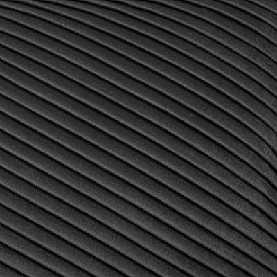 Fluwelen Kussen Lines - Grijs - 30 x 50 cm (incl. vulling)