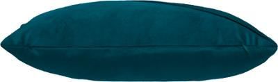 Fluwelen Kussen Lines - Petrol Blauw - 30 x 50 cm (incl. vulling)
