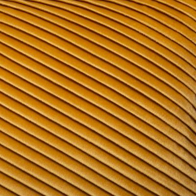 Fluwelen Kussen Lines - Oker Geel - 30 x 50 cm (incl. vulling)