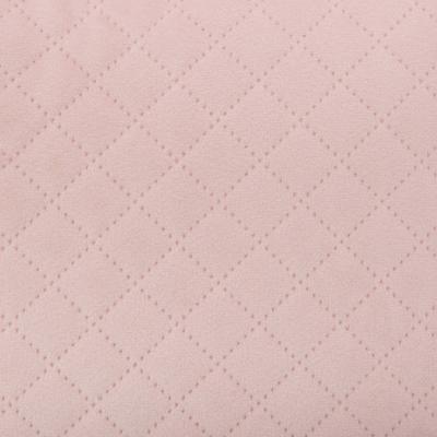 Fluwelen Sierkussen Popcorn - Roze - Velvet - 40 x 40 cm (incl. vulling)