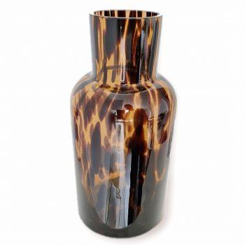 Deco Vaas Cheetah Amber - H22 cm