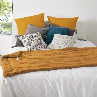 Velvet Bedloper Oker geel - 80 x 180 cm
