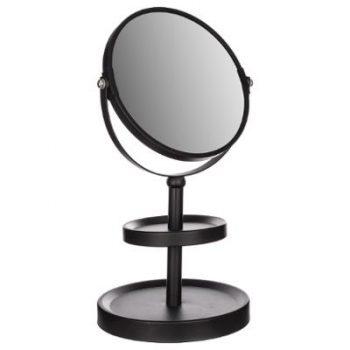 Make-up spiegel Mat Zwart - x3 Vergroting