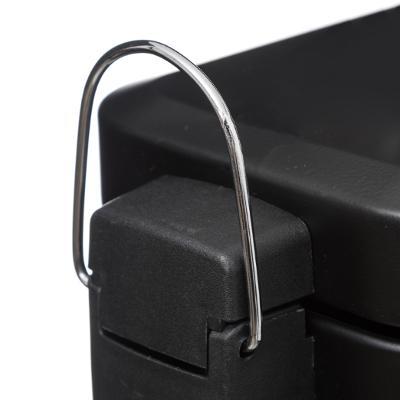 Pedaalemmer 5L Mat Black - Zwart - Softclose