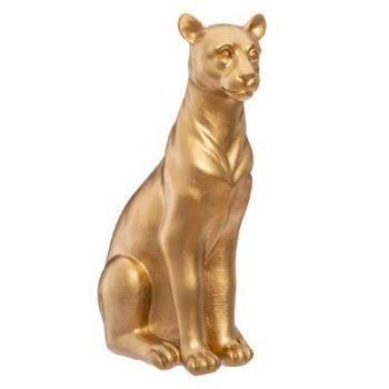 Ornament Panter Goud - H25 cm