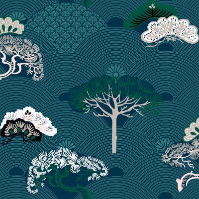 Dekbedovertrek Botanic Blauw - 240 x 200/220 cm & 2 slopen