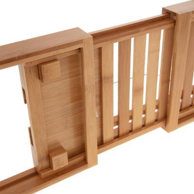 Bamboe Badplank Naturel - Verstelbaar