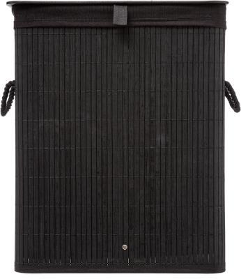 Wasmand Bamboe Zwart - 60L