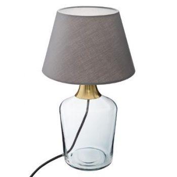 Tafellamp Madam Grijs - Goud