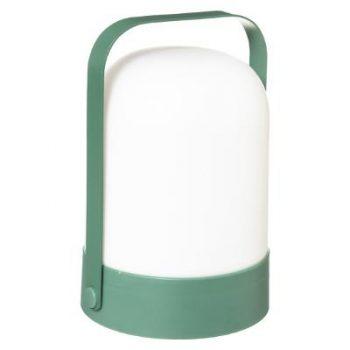 LED Lantaarn Groen - Werkt op batterijen (incl. lamp) - Voor binnen & Buiten