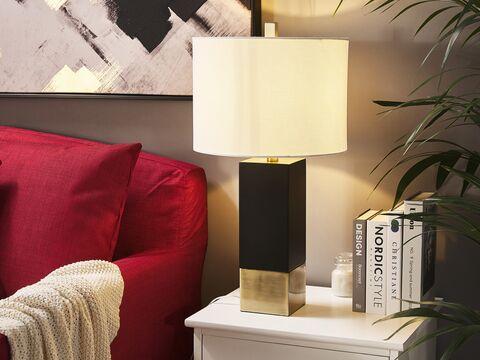 Design Tafellamp Black Cubic