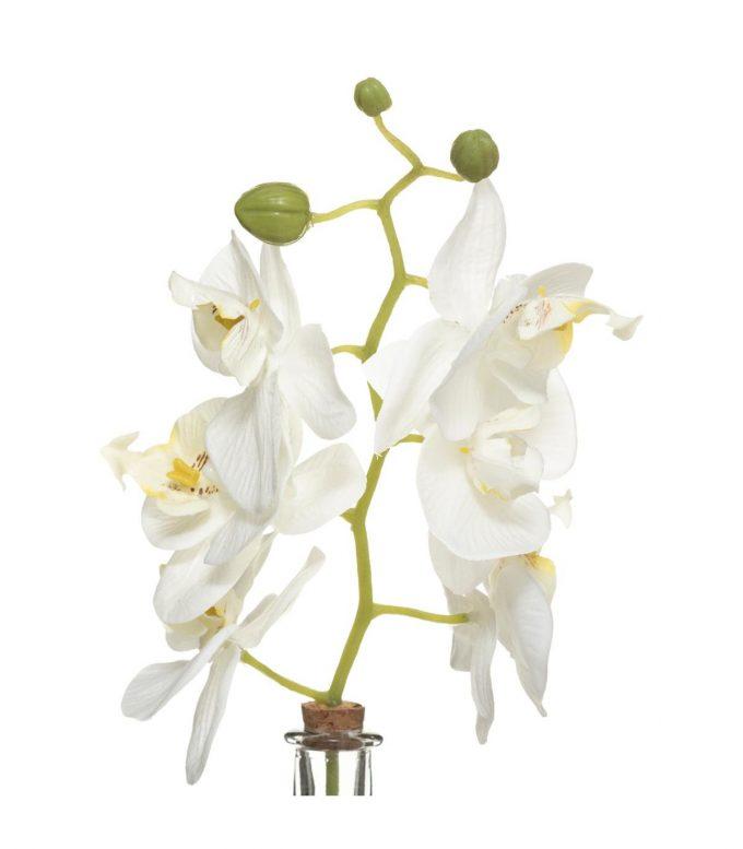 Deco Vaas Orchidee - Wit - H40 cm