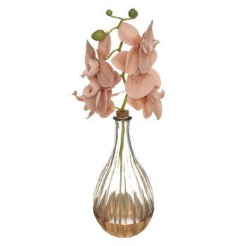Deco Vaas Orchidee - Roze - H40 cm